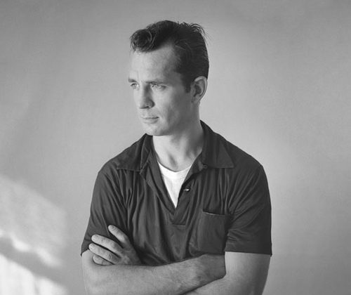 Jack Kerouac, rok 1956, fotografia autorstwa Toma Palumbo (źródło: Wikipedia. Wolna Encyklopedia)