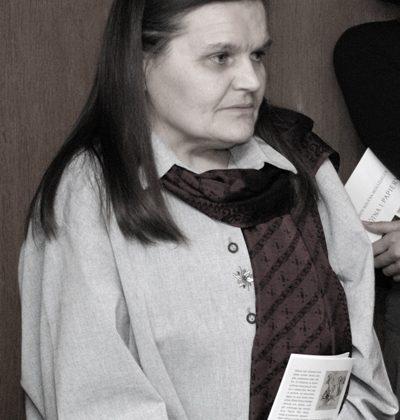 Na zdjęciu: prof. Małgorzata Kitowska-Łysiak