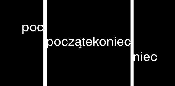 """Stanisław Dróżdż, """"Bez tytułu"""" (""""Początekoniec""""), 1971-1995, Copyrights: Anna Dróżdż (źródło: materiały prasowe organizatora)"""