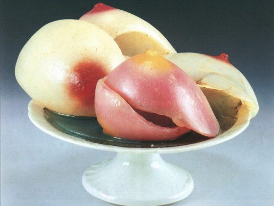 """Alina Szapocznikow, """"Dessert III"""" (Coupe des sens), 1970-1971 (źródło: materiały prasowe)"""