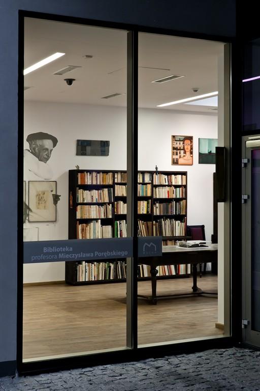 Biblioteka Mieczysława Porębskiego w MOCAK-u, fot. R. Sosin