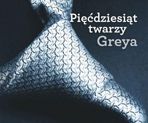 Pięćdziesiąt twarzy Greya – okładka (źródło: materiały prasowe)