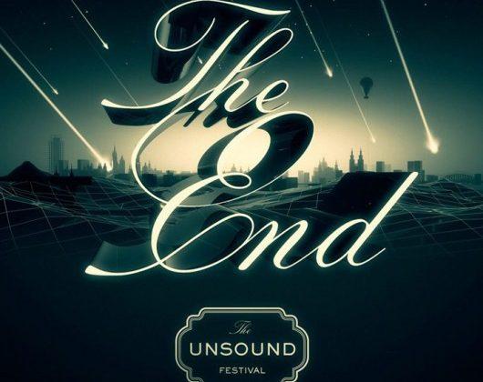 Krakowski Unsound Festival – plakat (źródło: materiały prasowe)