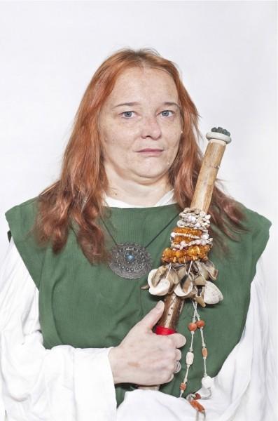 """Katarzyna Majak, """"Elwinga, Druidka"""", z cyklu """"Kobiety Mocy"""", dzięki uprzejmości artystki i galerii Porter Contemporary NY"""