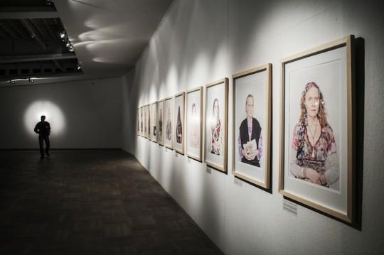 """Katarzyna Majak, """"Kobiety Mocy"""", Bunkier Sztuki w Krakowie, wernisaż, 21 marca 2013 roku, fot. Studio FilmLOVE (źródło: materiały prasowe organizatora)"""