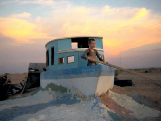 """Kadr z filmu """"Bombay Beach"""" (2011), dzięki uprzejmości bombaybeach.com"""