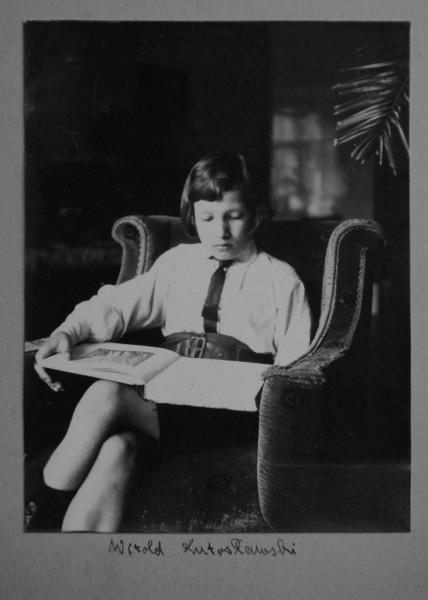 Witold Lutosławski, Drozdowo, maj 1927 (źródło: Towarzystwo im. Witolda Lutosławskiego)