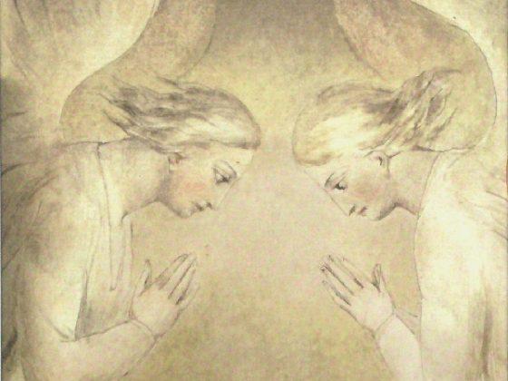 John Zorn, A Vision in Blakelight – okładka (źródło: mat. prasowe)