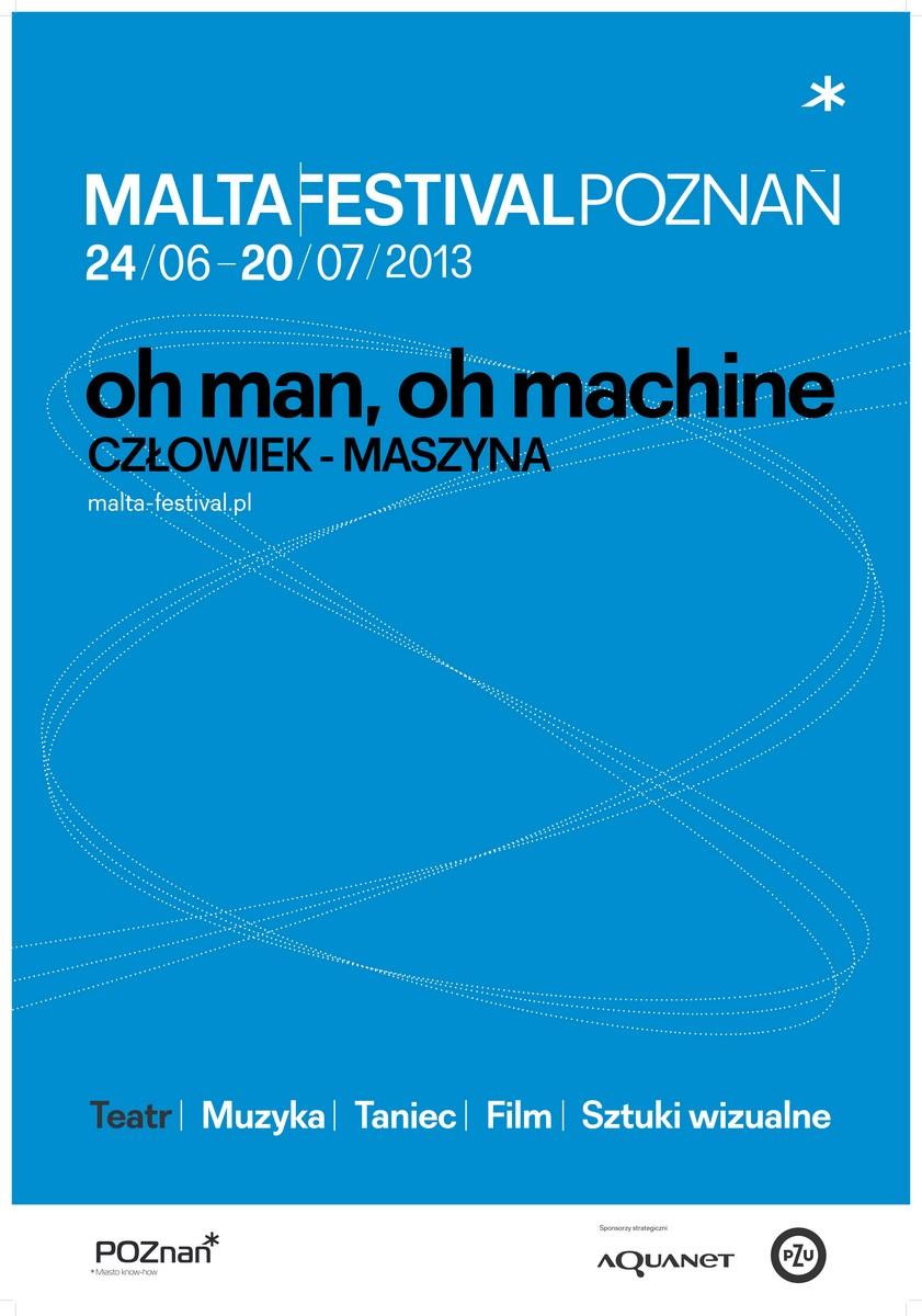 Malta Festival Poznań – plakat (źródło: materiały prasowe)
