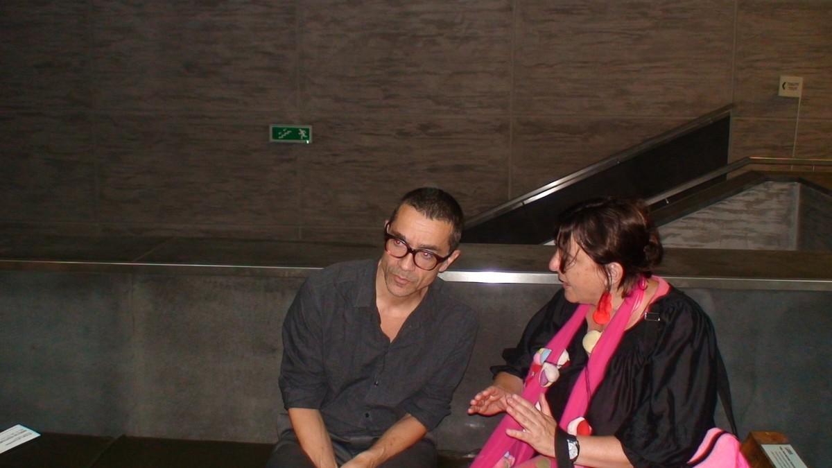 Romeo Castellucci i Alexandra Hołownia, fot. Jacek B.Kapczyński