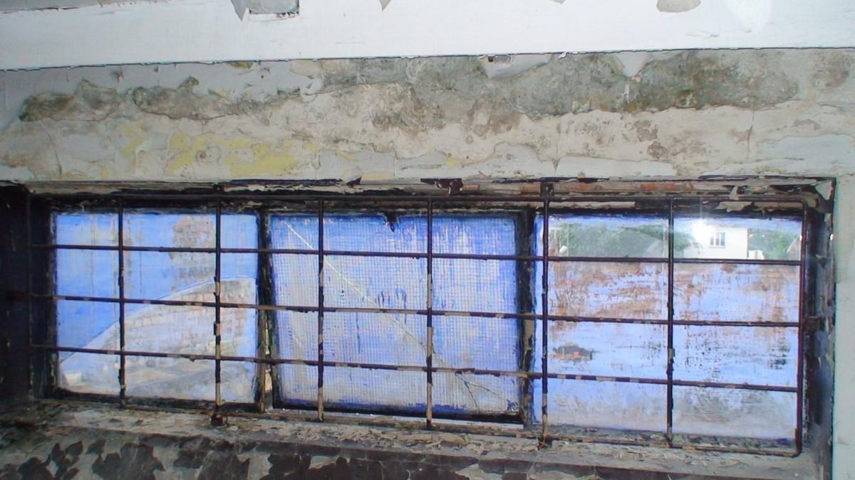 Stara Rzeźnia, fragment okna Festiwal Teatralny Malta, fot. Alexandra Hołownia
