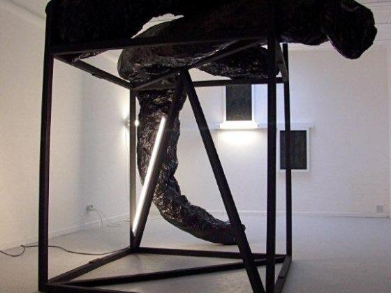 Angelika Markul, widok pracowni, 2012 (źródło: materiały Kwartalnika Rzeźby Orońsko)