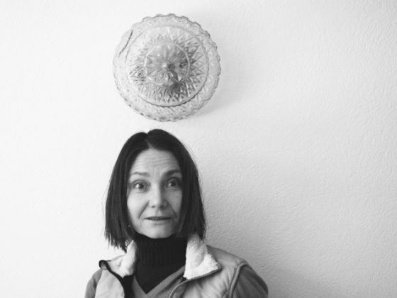 Katarzyna Kozyra, fot. Katarzyna Szumska, Warszawa 2013 (dzięki uprzejmości artystki)