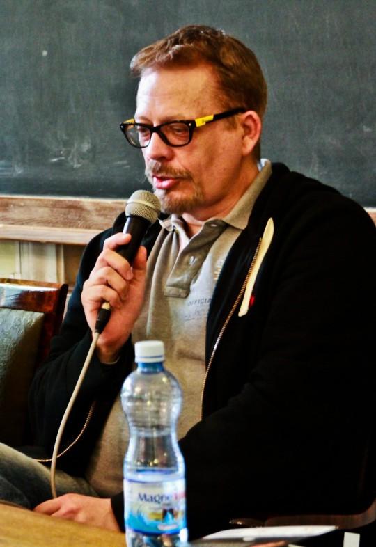 Tomasz Raczek, fot. Bartosz Wróblewski (źródło: materiały autora tekstu)