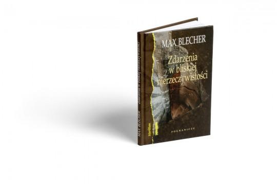 """Max Blecher, """"Zdarzenia z bliskiej nierzeczywistości"""" – okładka książki (źródło: materiały prasowe Kwartalnika Herito)"""