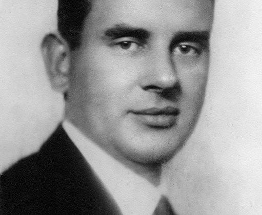 Wiktor Nowakowski, 1939 r. starosta powiatowy Łasku, fot. ze zbiorów Wandy Nowakowskiej (źródło: materiały prasowe Kwartalnika Karta)