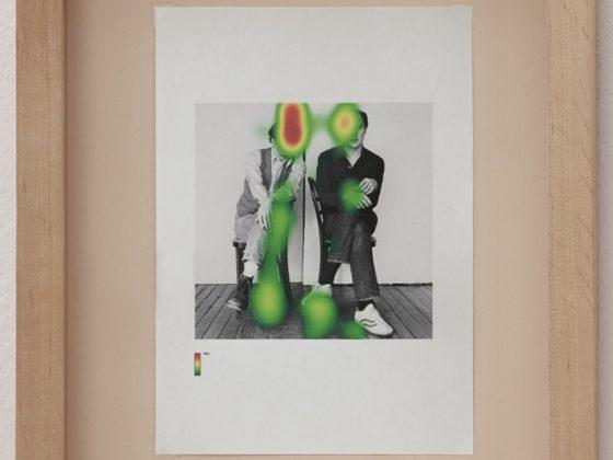 Tomasz Dobiszewski, Fiksacje, projekt eyetracking Barthes (źródło: dzięki uprzejmości artysty)