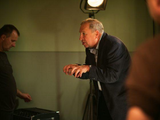 """""""Obywatel"""", reż. Jerzy Stuhr, fotografia z planu zdjęciowego (źródło: materiały dystrybutora/ITI Cinema)"""