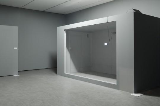 """Natalia Wiśniewska, """"Venans / Polujący"""", instalacja dźwiękowa, 2013; fot. T. Szabelski (źródło: materiały Kwartalnika Artluk)"""