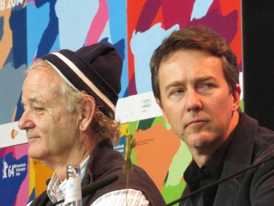 Bill Murray, Edward Norton, 64. Berlinale, fot. Alexandra Hołownia (źródło: dzięki uprzejmości A. Hołowni)