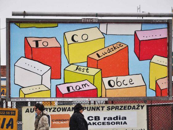 """Galeria Rusz, """"To co ludzkie"""", Toruń, 2009 (źródło: www.galeriarusz.art.pl / dzięki uprzejmości artystów)"""