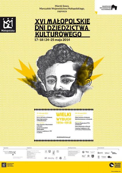 Małopolskie Dni Dziedzictwa Kulturowego – plakat (źródło: materiały prasowe)