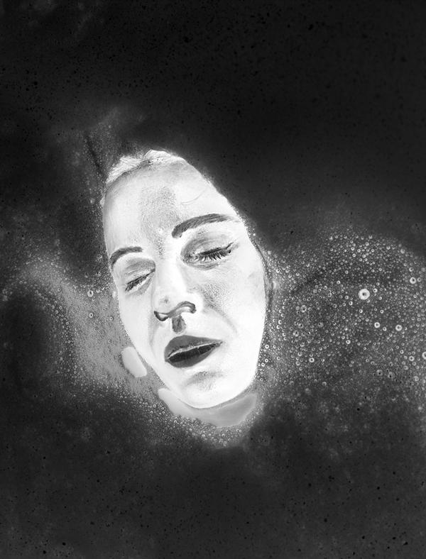 """Aneta Grzeszykowska, z serii """"Negative Book"""", 2013 (źródło: materiały prasowe Muzeum Sztuki Nowoczesnej w Warszawie)"""
