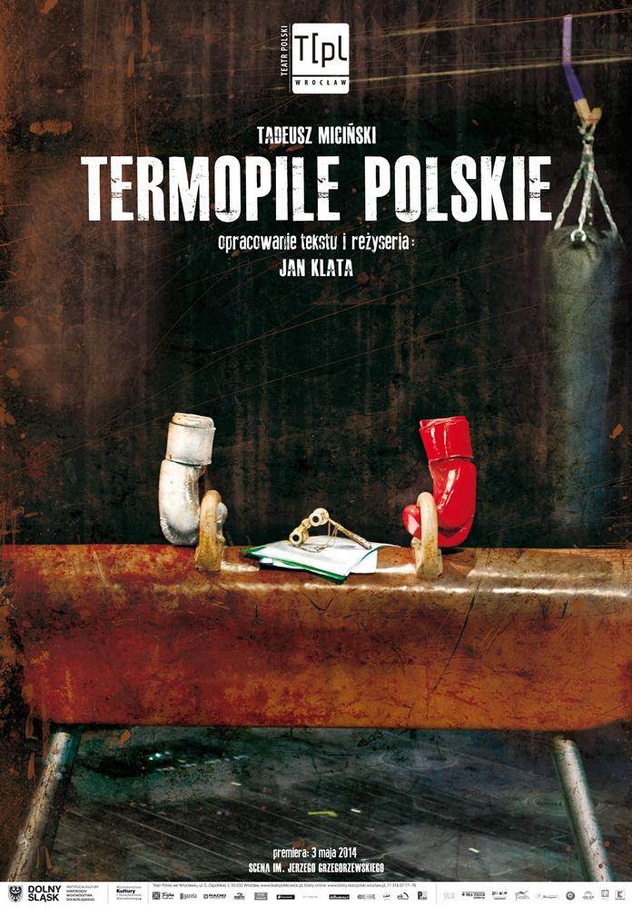 Jan Klata, projekt plakatu Michał Matoszko, Teatr Polski we Wrocławiu, 2014 (źródło: materiały prasowe Teatru)