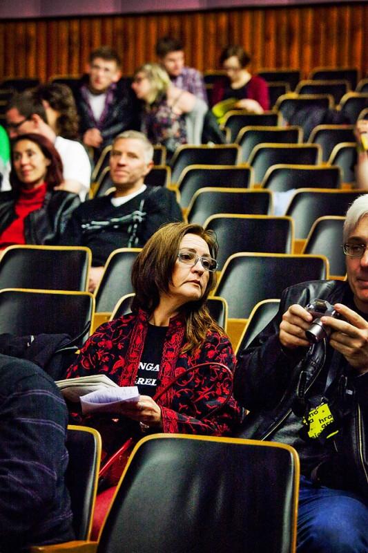 16. Przegląd Filmowy Kino na Granicy / 16. Filmová přehlídka Kino na Hranici, 29.04-04.05 2014, Cieszyn (źródło: materiały prasowe organizatora)
