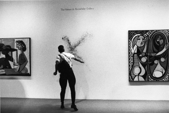 """Istvan Kantor, """"MOMA Gift"""", 1988 (źródło: dzięki uprzejmości organizatorów)"""