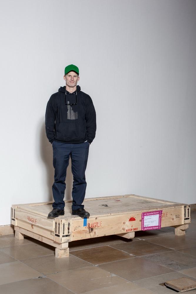 Matthew Barney, fot. Maximilian Geuter, (źródło: materiały prasowe Haus der Kunst)