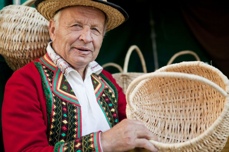 Aleksander Bielak, Jarmark Jagielloński 2014 (źródło: materiały prasowe organizatora – Warsztatów Kultury w Lublinie)