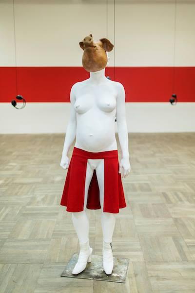 """Wystawa Anny Baumgart, """"Zaśpiewajcie, niewolnicy"""", Bunkier Sztuki w Krakowie, fot. StudioFILMLOVE (źródło: materiały prasowe organizatora)"""