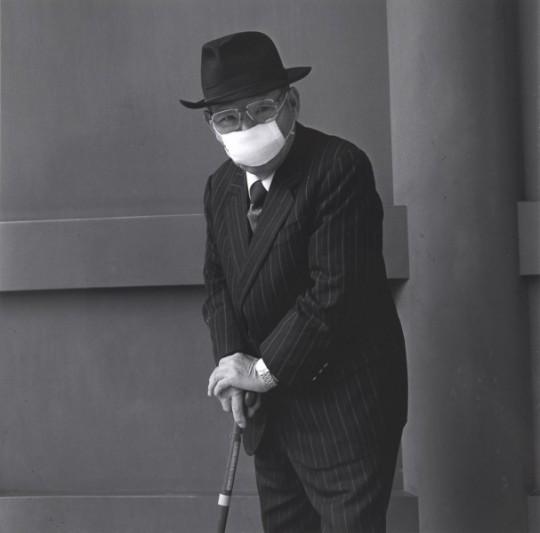 """Hiroo Kikai, z serii: """"Ludzie z Asakusy"""" (źródło: materiały prasowe Muzeum)"""