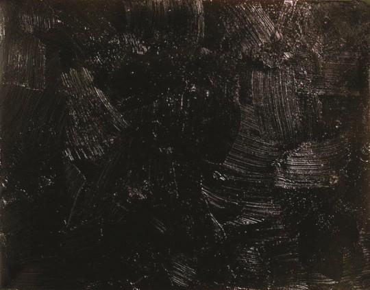 """The Krasnals. Whielki Krasnal, """"How it is"""", 2010, olej, płyta, 30x40 cm, fot. The Krasnals (źródło: dzięki uprzejmości autora)"""
