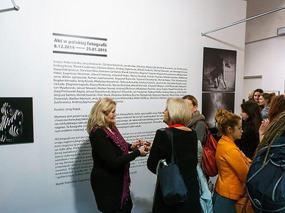 """""""Akt w polskiej fotografii"""", Biuro Wystaw Artystycznych w Tarnowie, 2014-2015 (źródło: dzięki uprzejmości autorki)"""