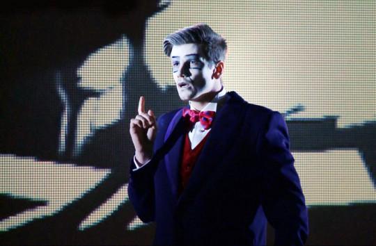 """Opera """"Gianni Schicchi"""" Pucciniego, Warszawska Opera Kameralna, listopad 2014 (źródło: dzięki uprzejmości artystki)"""