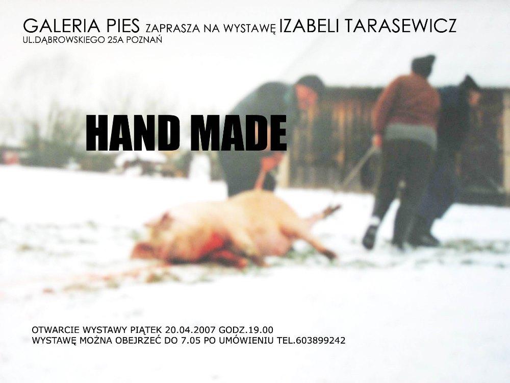 """Iza Tarasewicz, """"Hand made"""", pierwsza solowa wystawa w Galerii Pies w Poznaniu (źródło: ilustracje wybrane i udostępnione przez artystkę)"""