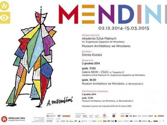 """""""MENDINI"""", zaproszenie (źródło: materiały prasowe organizatora)"""