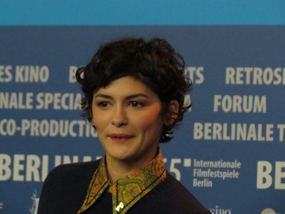 Audrey Toutou, fot. Alexandra Hołownia, 65. Międzynarodowy Festiwal Filmowy w Berlinie, 2015 (źródło: dzięki uprzejmości autorki)
