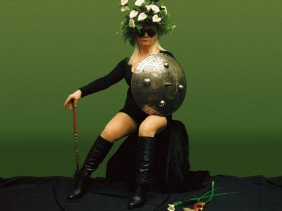 """Natalia LL, """"Transfiguracja Odyna II"""", 2009, tryptyk fotograficzny, 100 x 133 cm. Dzięki uprzejmości artystki (źródło: materiały prasowe CSW w Warszawie)"""