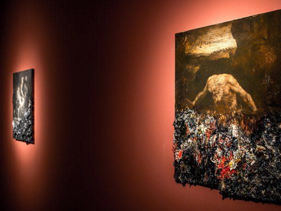 """Nicola Samori, """"Religo"""", Trafostacja Sztuki w Szczecinie, 1 piętro, fot. Adam Słomski/Underlight (źródło: dzięki uprzejmości organizatora)"""