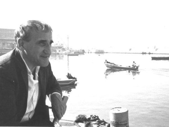 Tadeusz Kantor, fot. Wiesław Borowski, Jaffa, 1985 (źródło: dzięki uprzejmości autora tekstu)