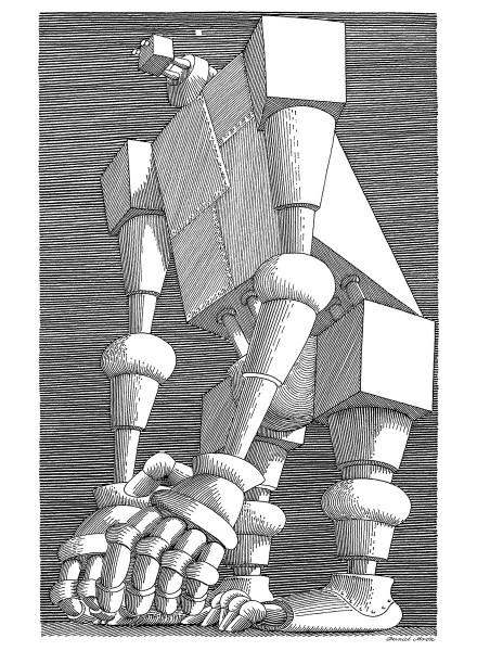 """Daniel Mróz, """"Cyberiada"""" (źródło: materiały prasowe Muzeum Historycznego Miasta Krakowa)"""