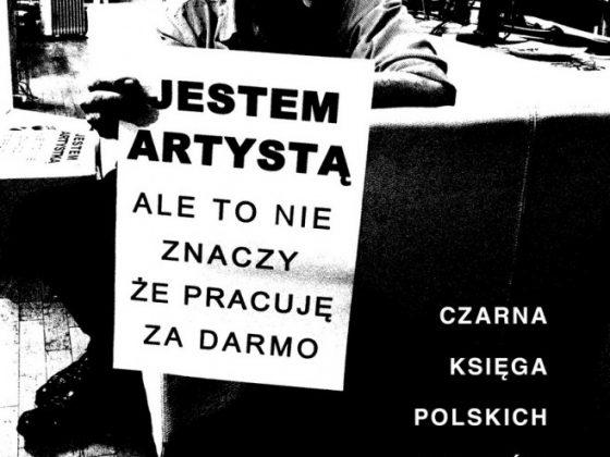 """""""Czarna księga polskich artystów"""" – okładka (źródło: materiały prasowe Wydawnictwa Krytyki Politycznej)"""
