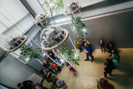 16. Biennale Sztuki Mediów WRO Test Exposure, 2015, praca Macieja Markowskiego, fot. M. Maziej (źródło: dzięki uprzejmości organizatora)