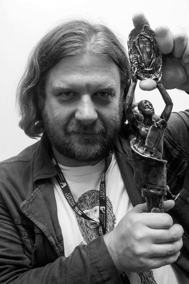 Grzegorz Jankowski, 34. Koszaliński Festiwal Debiutów Filmowych Młodzi i Film, fot. Robert Jaworski (źródło: materiały organizatora)