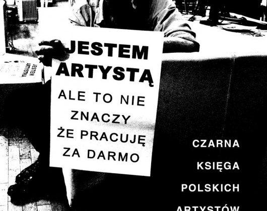 """""""Czarna księga polskich artystów"""", Krytyka Polityczna, 2015, okładka (źródło: materiały prasowe)"""