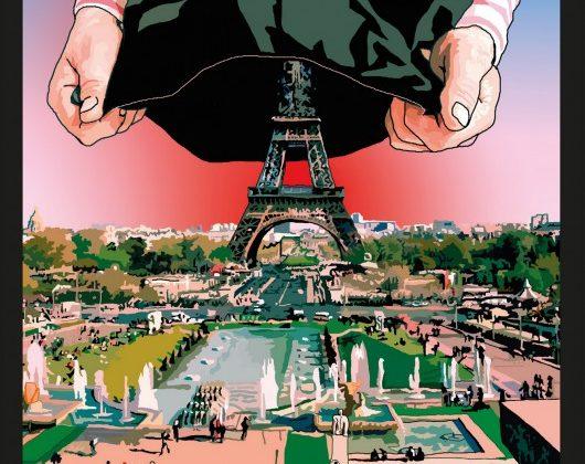 """Michel Houellebecq, """"Uległość"""", Wyd. W.A.B., okładka (źródło: materiały prasowe)"""