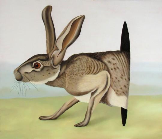 Dawid Czycz, bez tytułu, 2015, olej / płótno, 60 × 70 cm (źródło: materiały organizatorów)